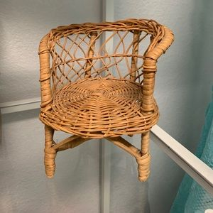 Other - Wicker doll chair